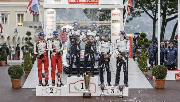 WRC 2017: Sebastien Ogier claims victory at Monte Carlo Rally