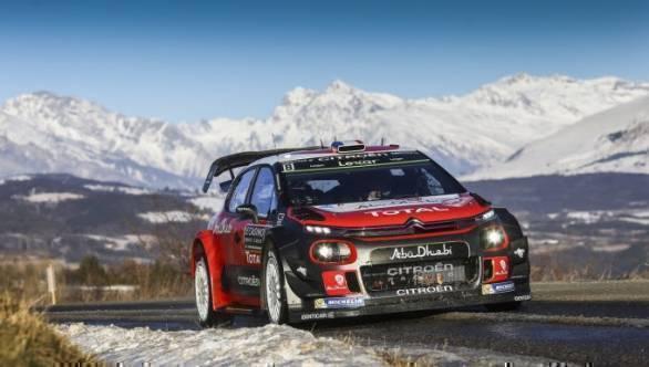 WRC 2017 Rally Monte Carlo Citroen