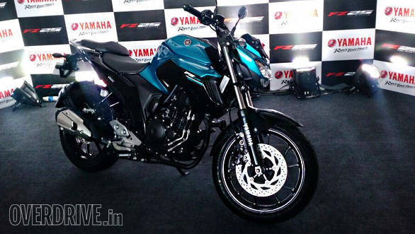 Yamaha FZ25: First look