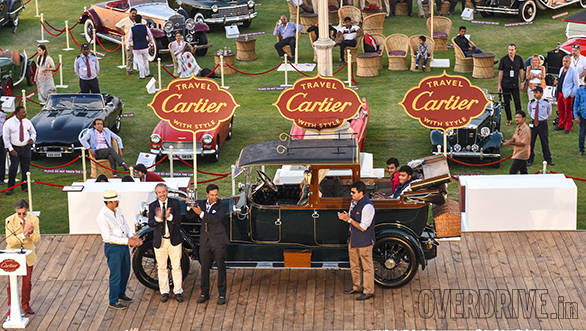 2-Best of Show prize winner 1914 Wolseley 30-40HP owned by Shrivardhan Kanoria