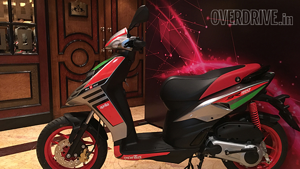 2017 Aprilia SR150 Race scooter launched in India at Rs 70,288