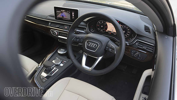 2017 audi a4 diesel launched in india at rs lakh overdrive. Black Bedroom Furniture Sets. Home Design Ideas