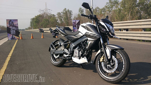 The 2017 Bajaj Pulsar NS200