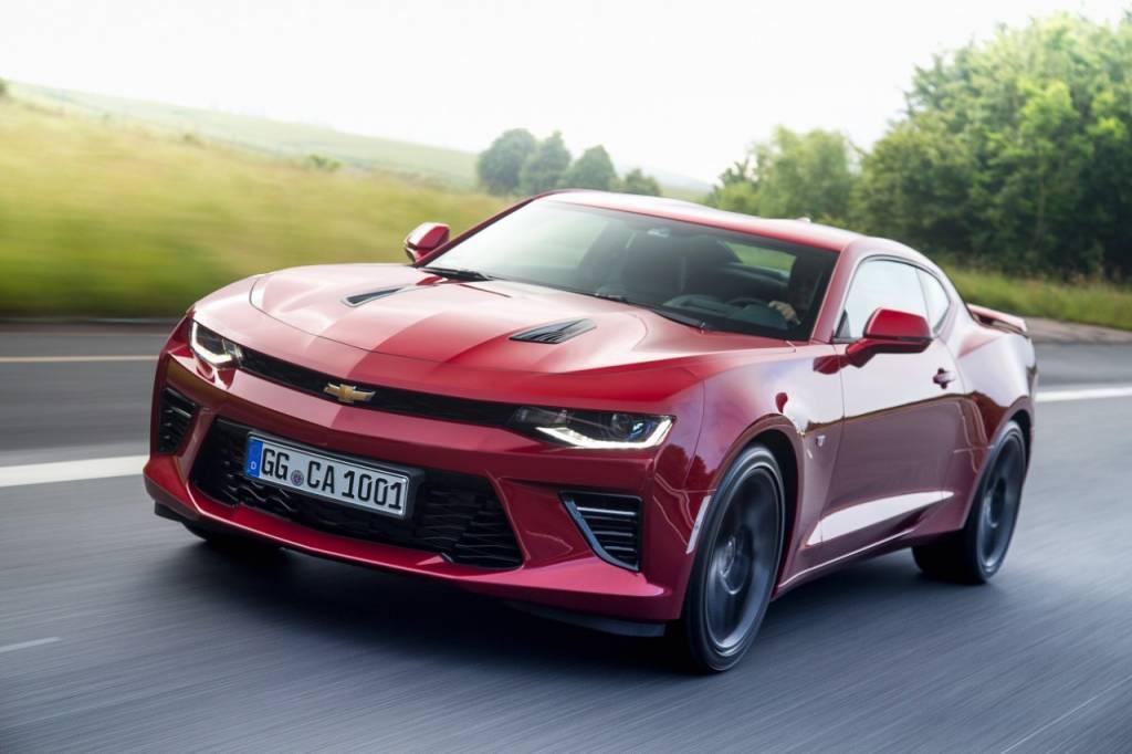 2017 Chevrolet Camarao Track concept