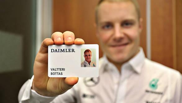 Valtteri Bottas Stuttgart Visit