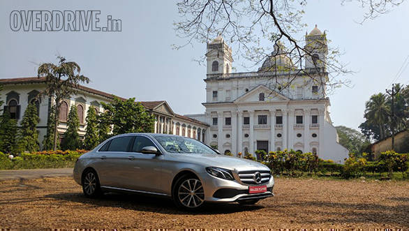 2017 Mercedes-Benz E-Class long-wheelbase 350d first drive review