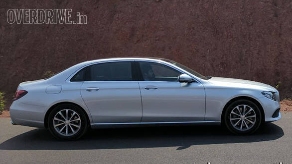 2017 Mercedes Benz E Class long wheelbase 350d first drive review
