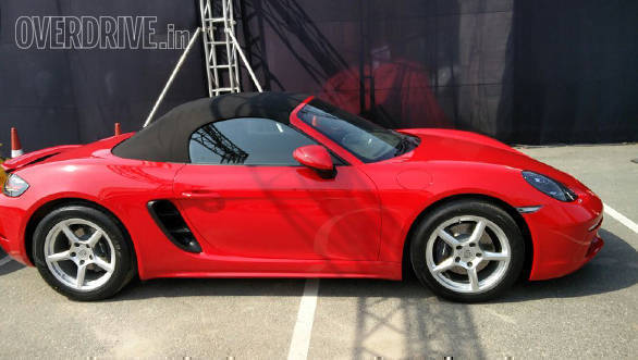 78f849fc385 2017 Porsche 718 Boxster and Cayman launched in India - Overdrive