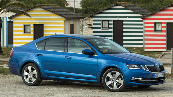 Image Gallery India Bound Skoda Octavia Facelift Overdrive