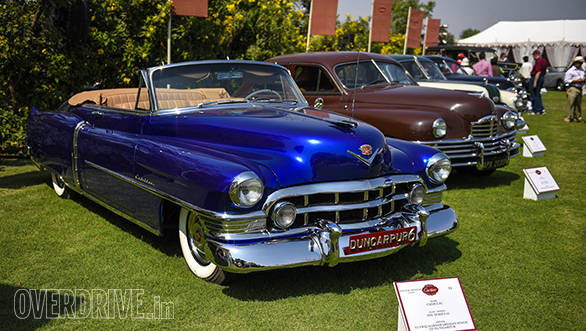 21-A 1950 Cadillac Series 62 owned by Yuvraj Harshwardhan Singh of Dungarpur