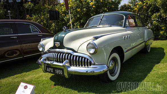 22- A 1949 Buick Roadmaster owned by Nawab Shah Alam Khan