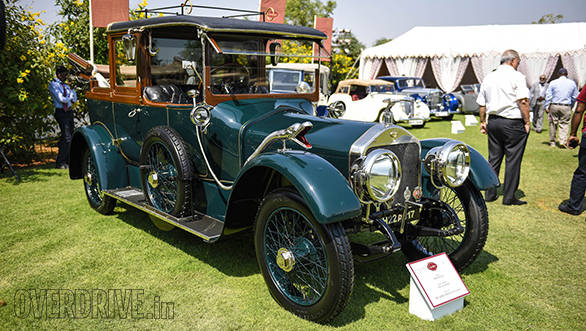 23- The very well restored 1914 Wolseley that won  the Best of Show Trophy