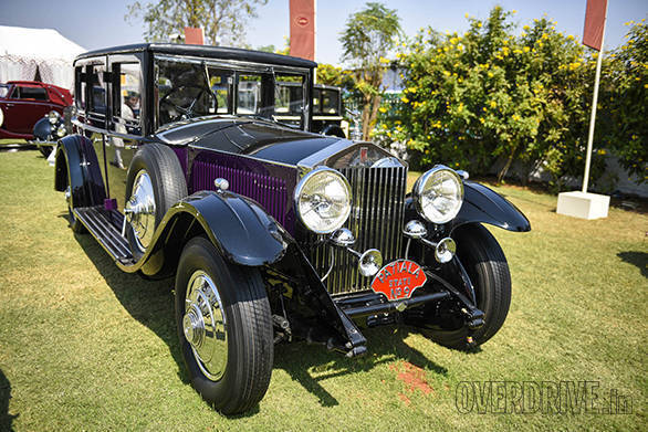 30- The ex-Patiala Princely State 1930 Rolls-Royce Phantom II now owned and restored by Viveck  & Zita Goenka