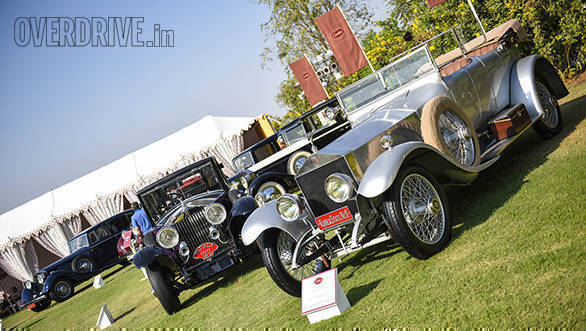 32- This time there was a Rolls-Royce Class and many were dazzled by the vast display of what many consider to be the world's best cars.