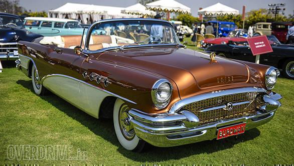35- A 1955 Buick Roadmaster owned by Viveck & Zita Goenka