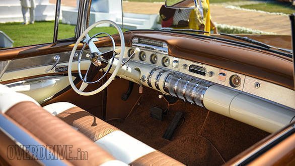 36- Immaculate interior of the 1955 Buick Roadmaster