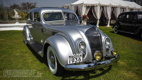 38-The 1936 Chrysler Imperial Aeroflow owned by Amal Tanna