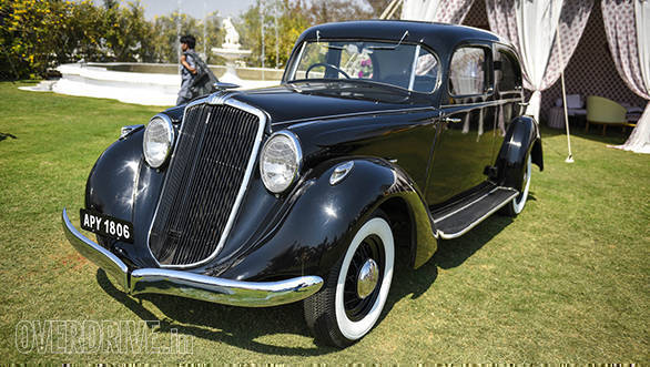 39- A 1934 Hupmobile owned by Captain K.F. Pastonji