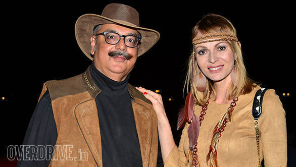 39--Bob-and-participant-Ania,-all-dressed-up-for-the-cowboy-theme-'Endurance-Championship--Party'