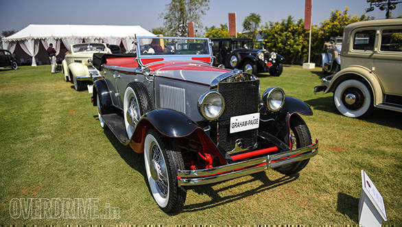 44-A 1929 Graham Paige 615 owned by Yashvardhan Ruia