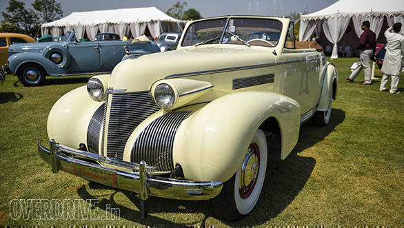 45-A 1939 Cadillac  Series 61 owned by Jitendra Singh Rathore