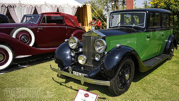 48-Pre-War Classic Rolls-Royce prize winner 1936 Rolls-Royce 25-30 HP owned by Manu Raman