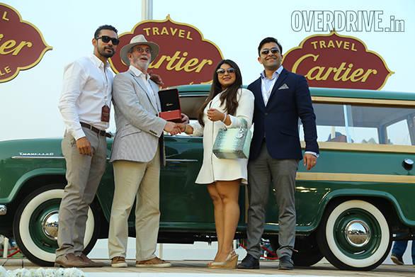 5-Indian Heritage prize winner -1957 Hindustan Landmaster Traveller  - owned by Viveck and Zita Goenka