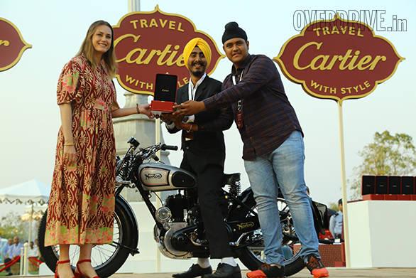 6-Pre-War Motorcycle prize winner - Norton 16H - owned by Norton Singh Sukhi