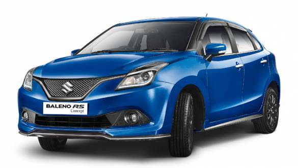 Maruti Suzuki Baleno RS to be launched in India on March 3, 2017