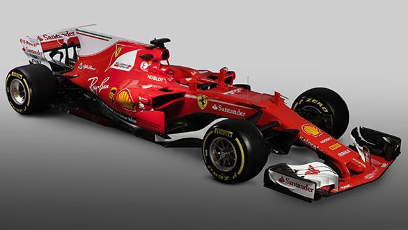 Ferrari 2017 F1 car (1)