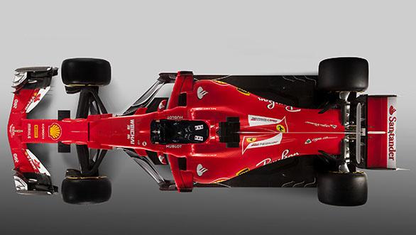 Ferrari 2017 F1 car (2)