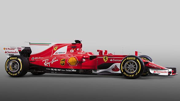 Ferrari 2017 F1 car (5)