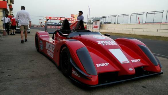 MRF Racing contemplates racing series with JA Motorsport-designed two-seater racecar