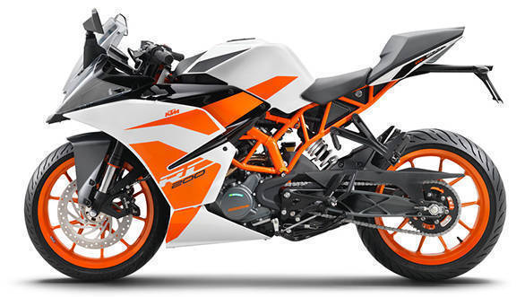2017 KTM RC200 first ride review
