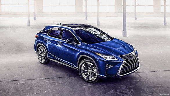 Image gallery: India-spec Lexus RX 450h