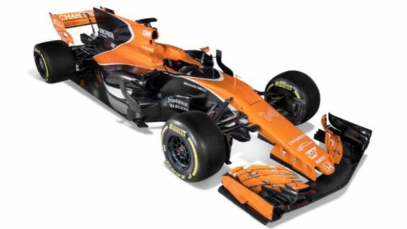 McLaren's throwing back to its glory days with the lovely papaya orange livery on the MCL32