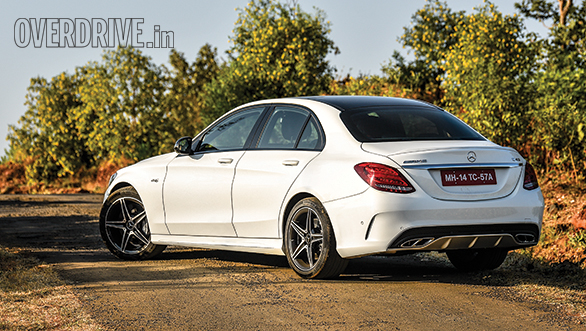 2017 mercedes-amg c43 road test review - overdrive