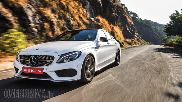 2017 Mercedes-AMG C43 road test review