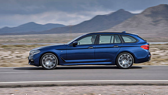 2017 BMW 5 Series Touring unveiled ahead of Geneva debut
