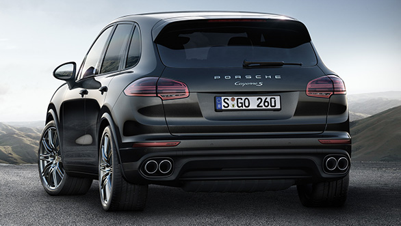 Porsche Cayenne S Platinum Edition 2