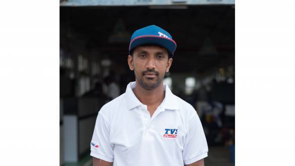 Nataraj hopes to be able to compete in international events soon