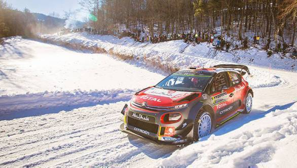 Rally Sweden 2017 Citroen WRC