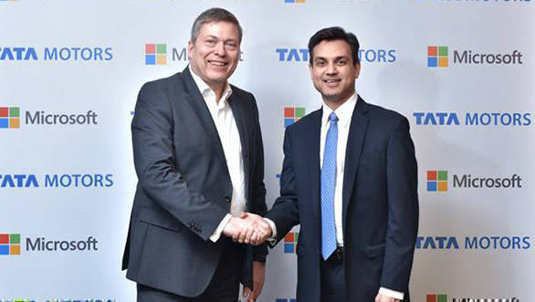 Tata Motors teams up with Microsoft for connected vehicle tech