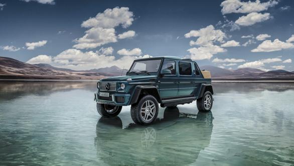 Image gallery: Mercedes-Maybach G 650 Landaulet