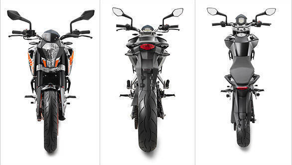 Spec comparison: 2017 KTM 200 Duke vs KTM RC 200 vs Pulsar RS200 vs Pulsar NS200 vs TVS Apache RTR 200 4V