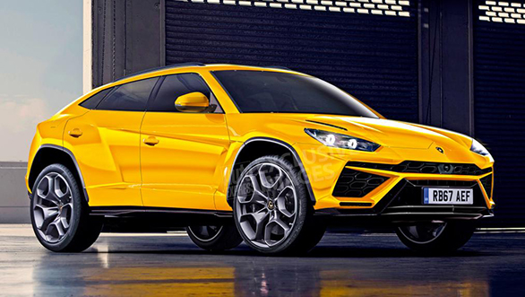 Lamborghini Urus SUV to make over 600PS and 800Nm