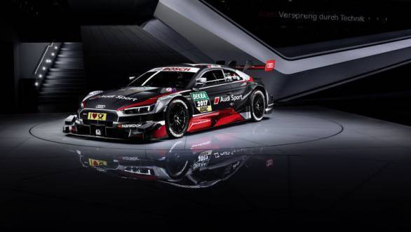 The 2017 Audi RS5 DTM