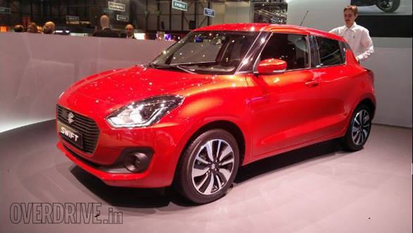 2017 Geneva Motor Show: More details on India-bound all-new Suzuki Swift emerge