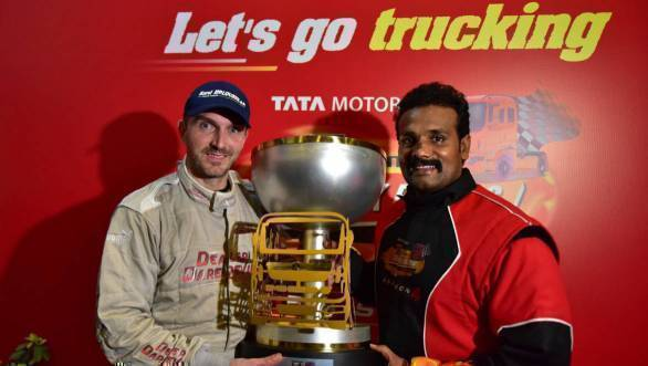 2017 Tata T1 Prima Truck Racing: David Vrsecky clinches title after double win