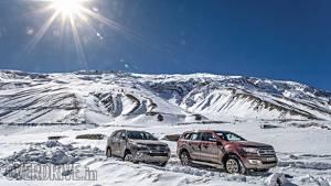 2017 Toyota Fortuner vs Ford Endeavour